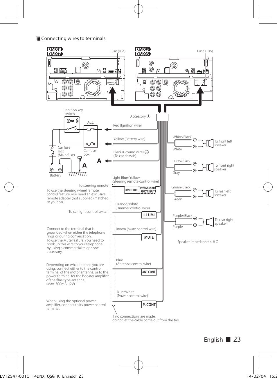 kenwood radio wire diagram