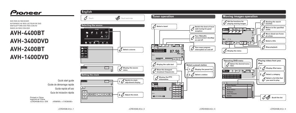 pioneer avh p5200bt wiring diagram