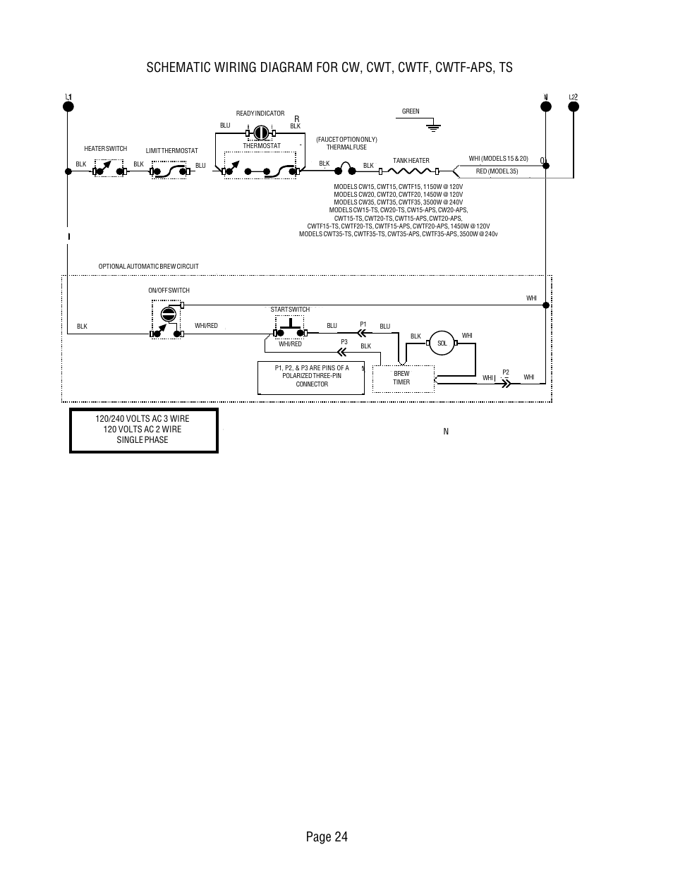 Bunn Switch Wiring Diagram Library Parts Catalog 19 Images