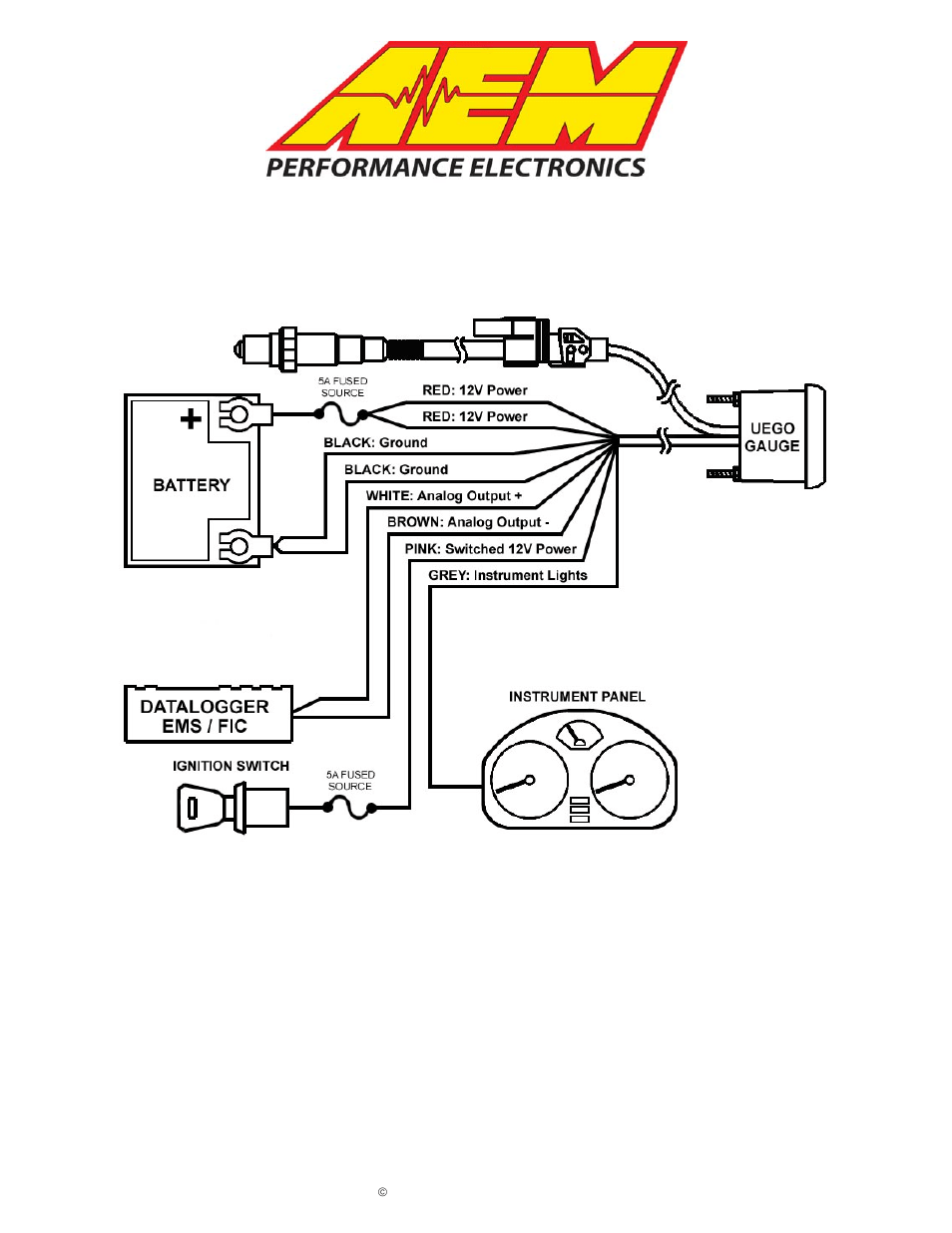 wideband o2 wiring diagram