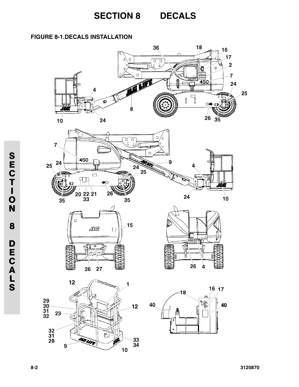 jlg e300ajp wiring diagram