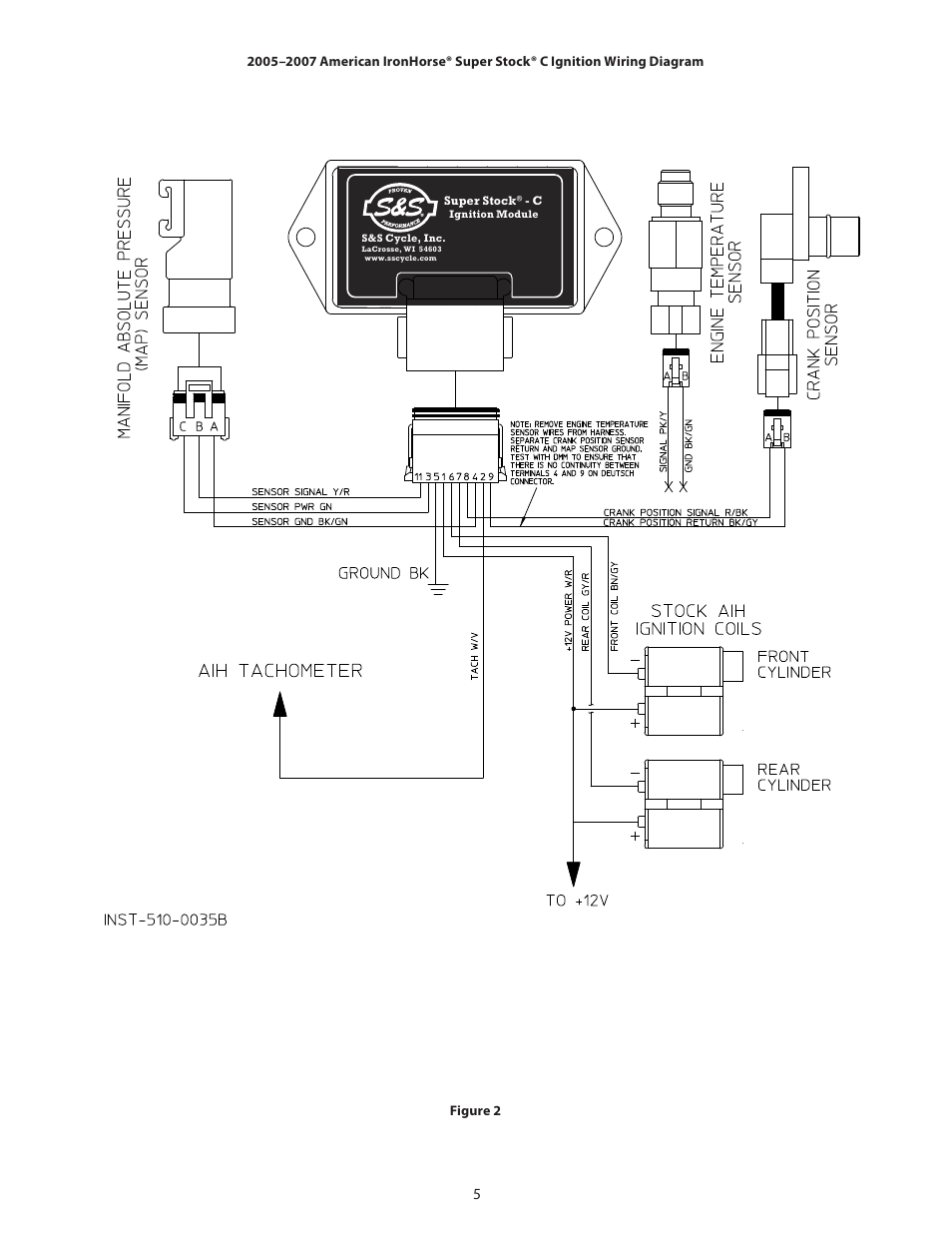 iron horse motorcycles wiring diagram