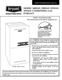 Bryant Plus 80t Furnace Parts Diagram - Wiring Diagram