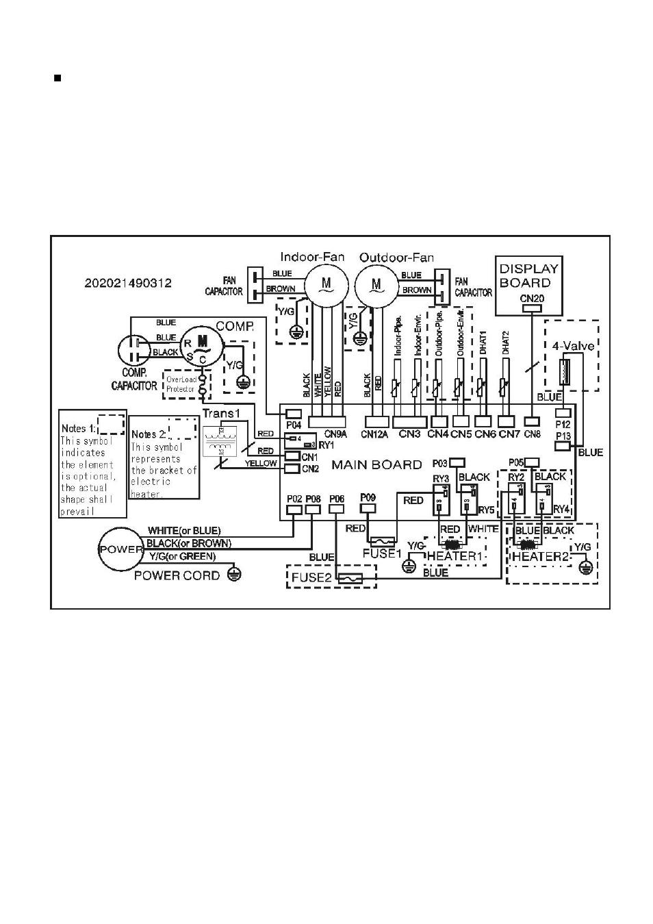 klimaire mini split wiring diagram