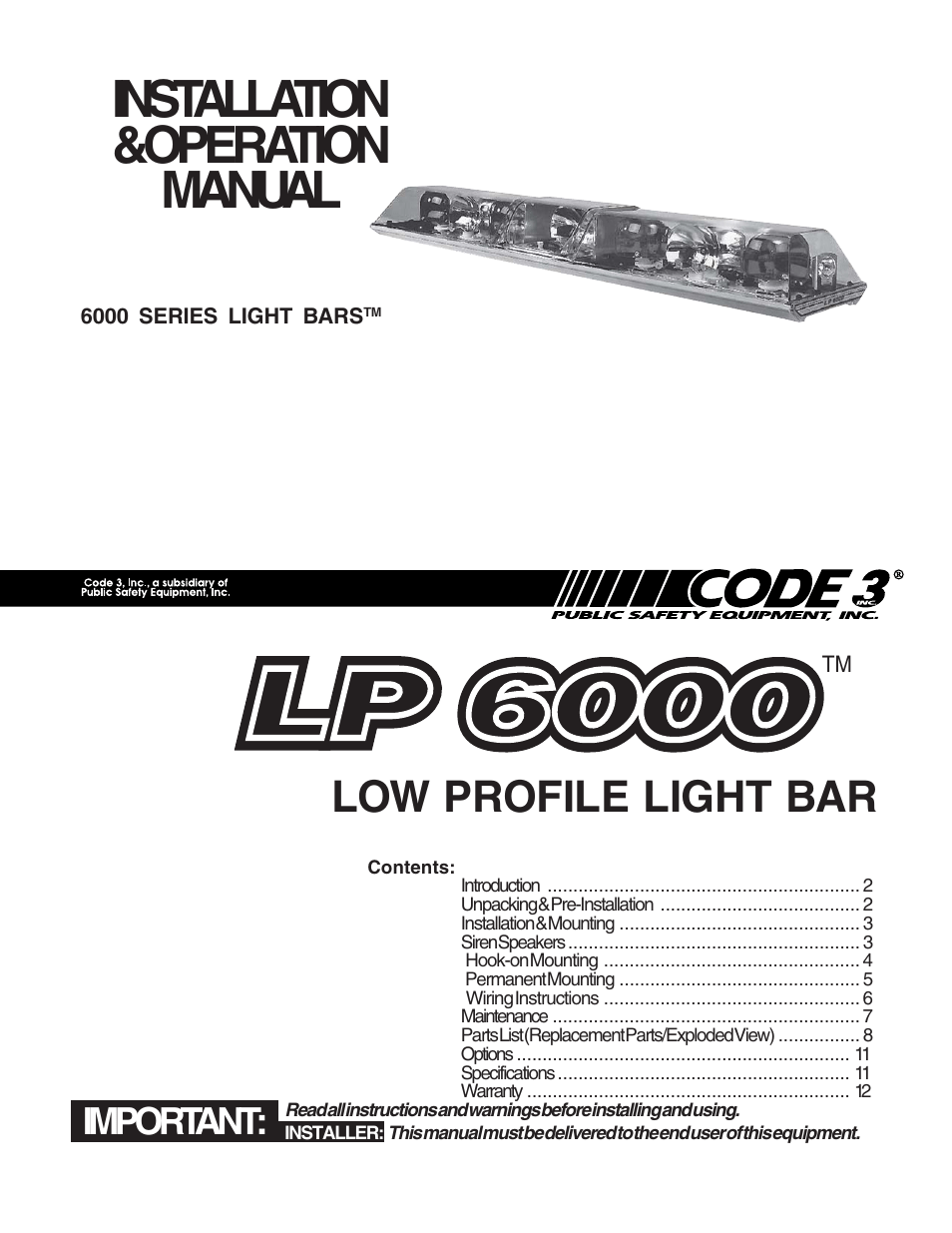code 3 excalibur lightbar wiring diagram