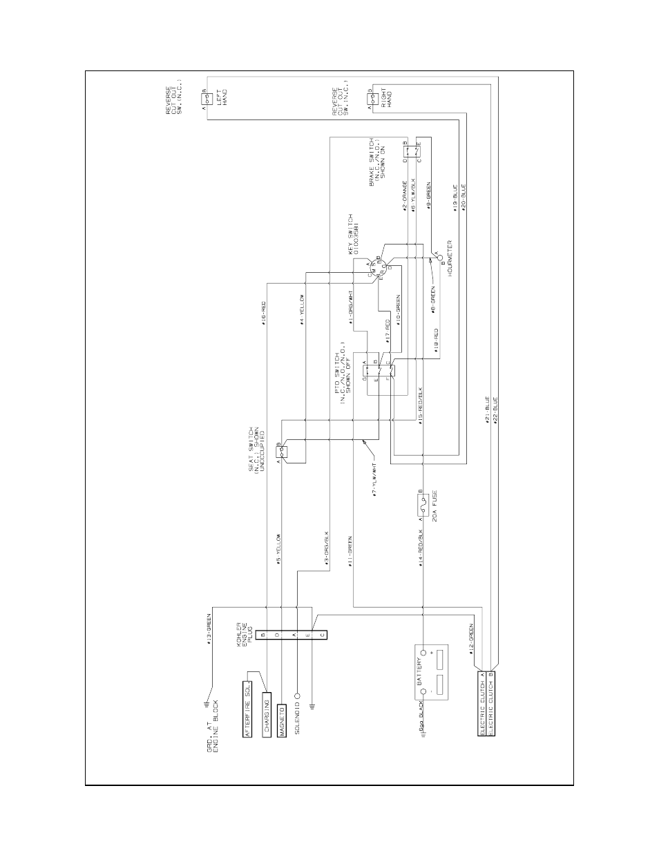 cub cadet 2072 wiring diagram