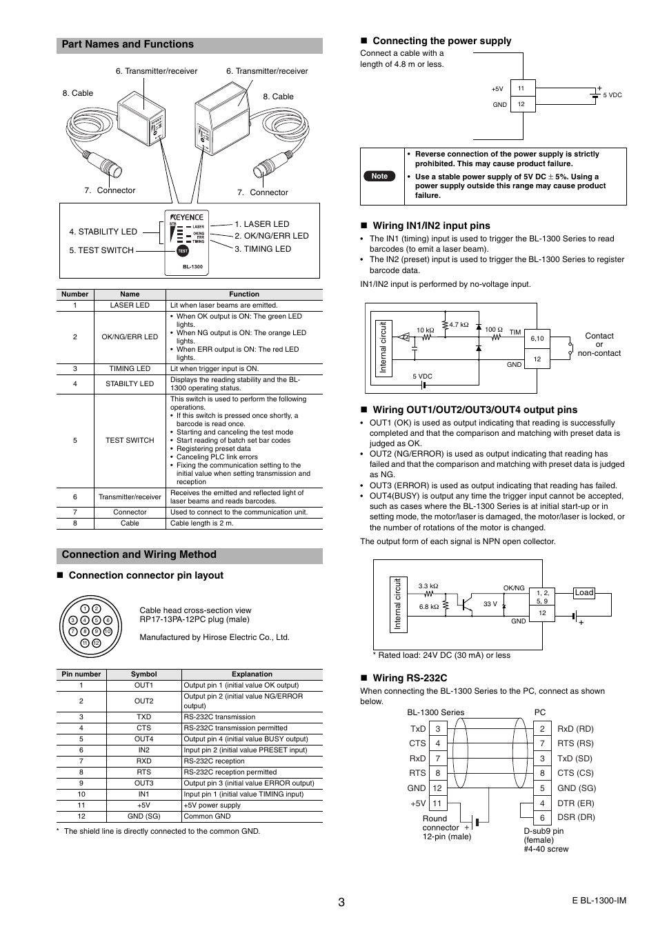 cable wiring method
