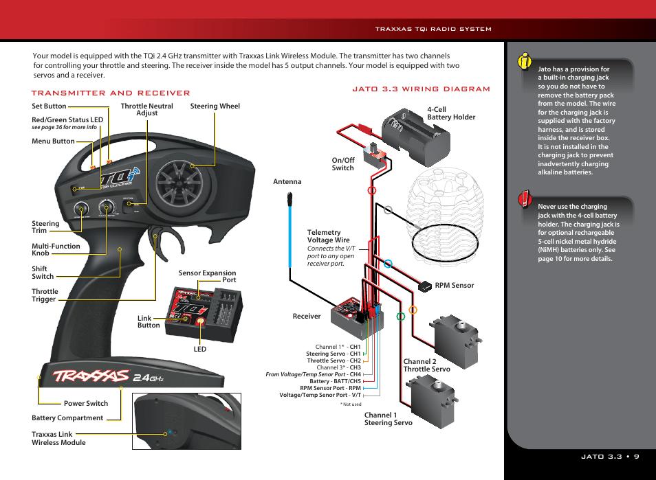 traxxas jato wiring diagram