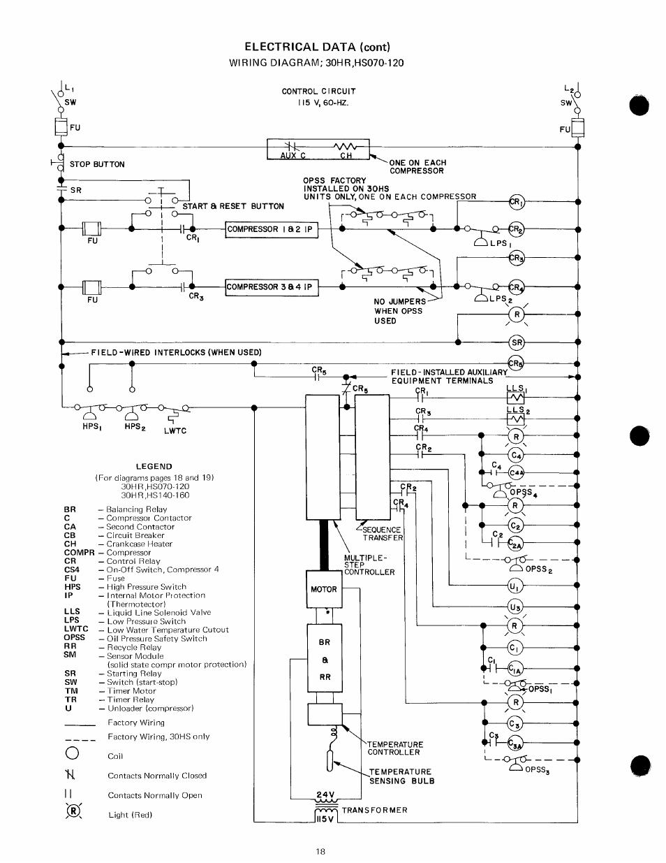 cr 30 compressor wiring diagram