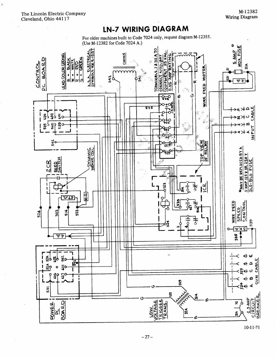 lincoln ln 7 wiring diagram