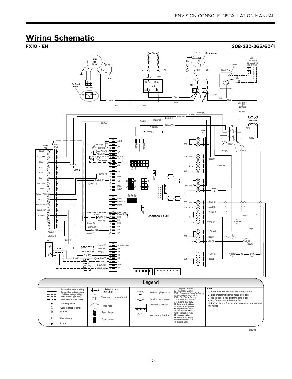 hot water furnace thermostat wiring