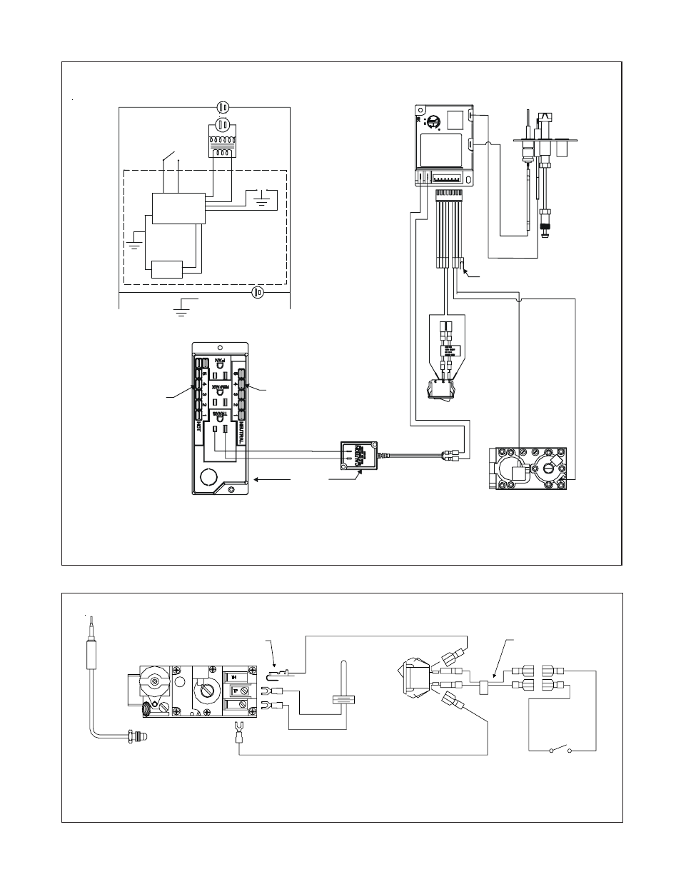 fireplace remote sensor wiring diagram