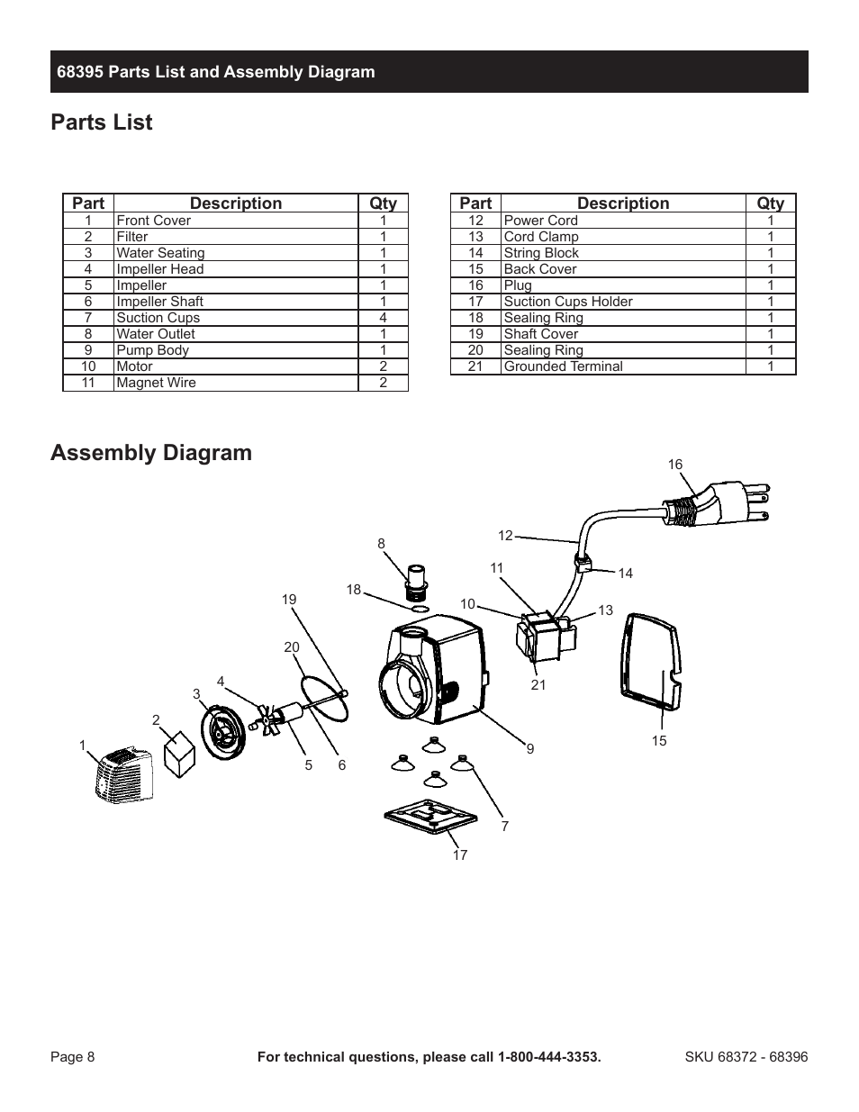 pacific hydrostar water pump wiring diagrams