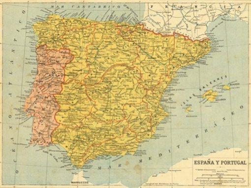 España - Spain Map | Manuche