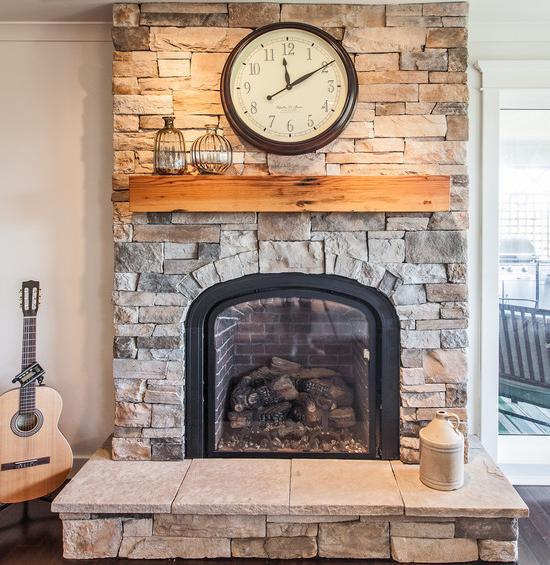 How To Install A Cultured Stone Fireplace