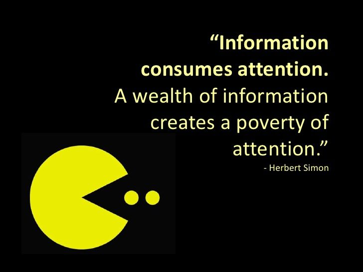 information attention
