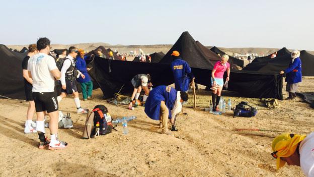 Marathon des Sables tents