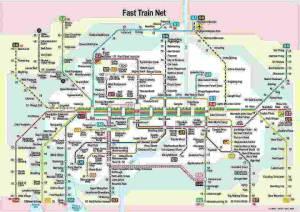 Munich metro map 2