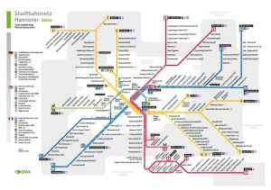 Mapa metro Hannover 6
