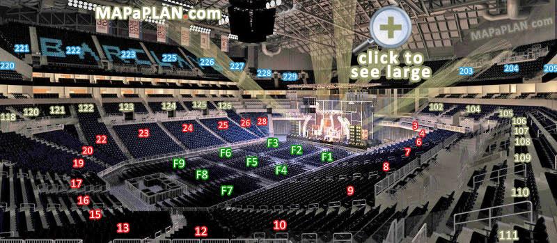 barclay center seating chart wwe - Heartimpulsar