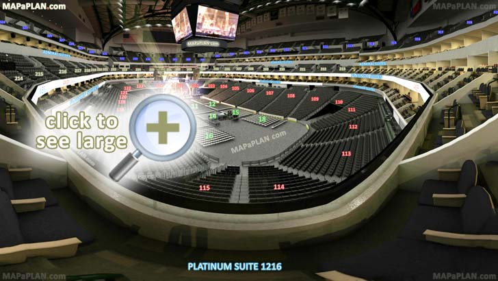American Airlines Center Dallas seat numbers detailed seating chart