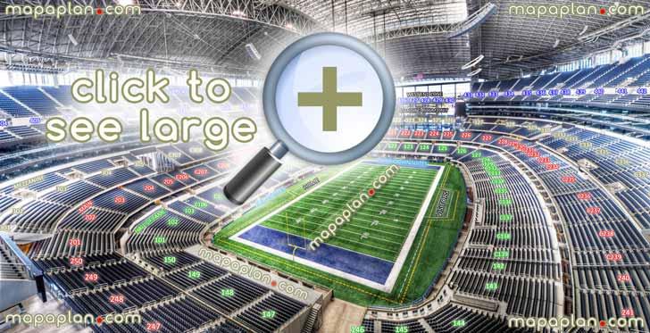 Seating Map For Dallas Cowboys Stadium Brokeasshome