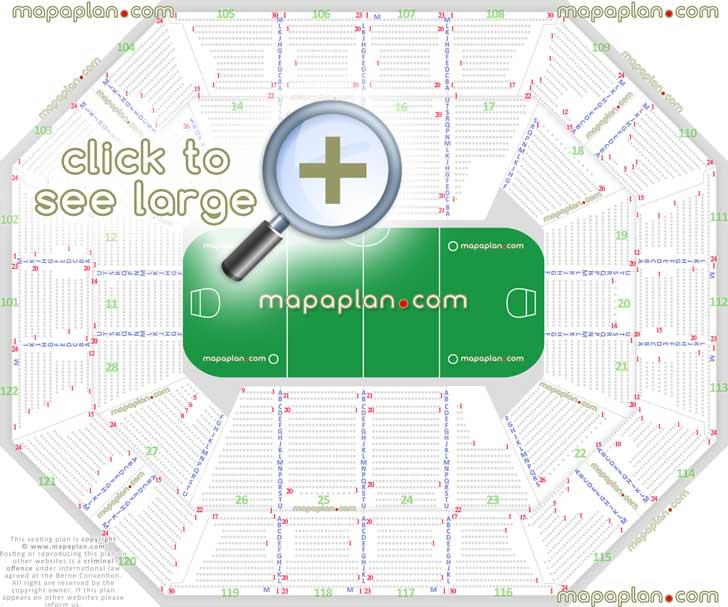 Mohegan Sun Arena Seating Diagram - Circuit Diagram Symbols \u2022