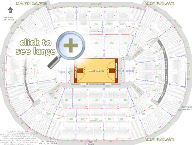 Joe Louis Arena Seating Chart With Seat Numbers - Allstate arena