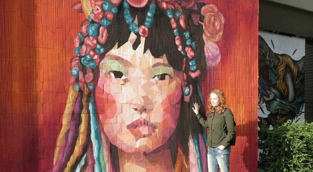 Street art Bülowstrasse, Berlin - Map of Joy