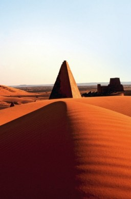 The pyramids of Meroe in Sudan. Once the legendary capital of the Kingdom of Kush.