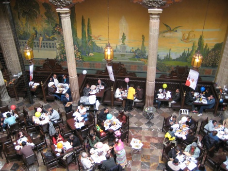 Casa de los azulejos mexico city delicious mexican food for Restaurante azulejos