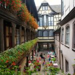 Cour du Corbeau: historic hotel in the centre of Strasbourg