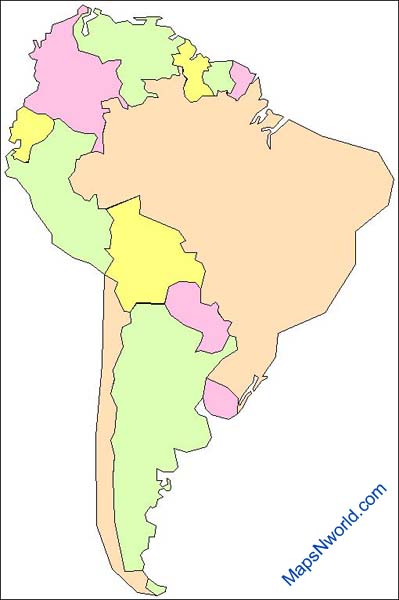 south-america-outline-map
