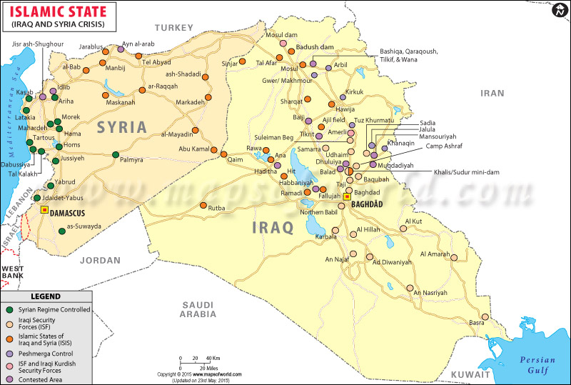 Islamic State Map, ISIS History, Funding, News and Latest Updates - best of world map hungary syria
