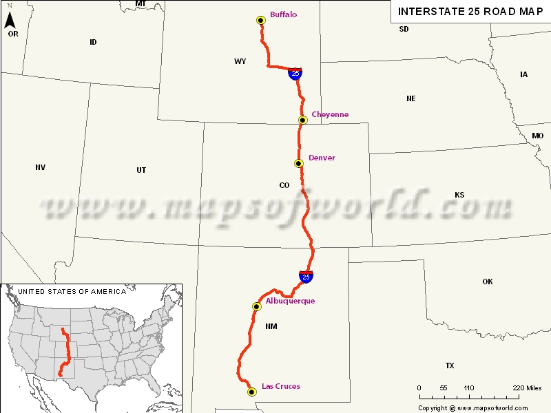 las cruces map