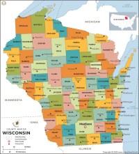 Wisconsin County Map | Wisconsin Counties