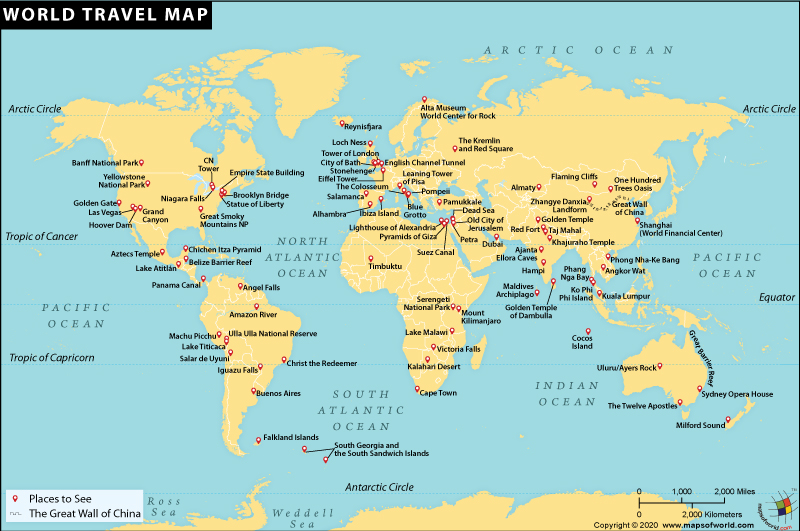 World Travel Maps - best of locate places on world map game