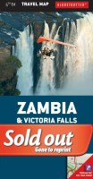 Zambia, Victoria Falls Travel Map