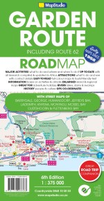 Road Map Garden Route Cover