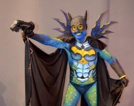 Maquillaje corporal Batman Beatriz Martínez