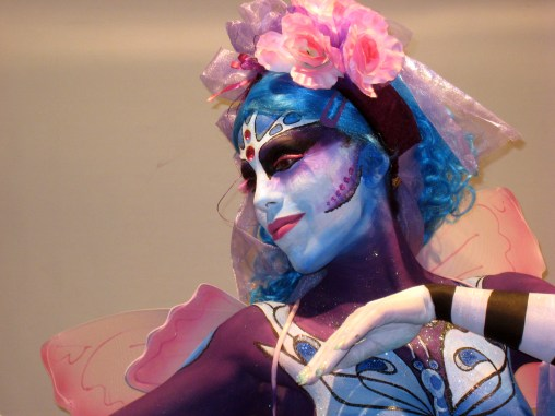 Maquillaje corporal Primavera Jesal Extetic. 2012. 3º premio