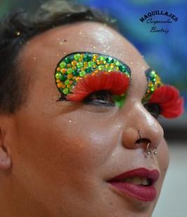Maquillaje de Drac Queen