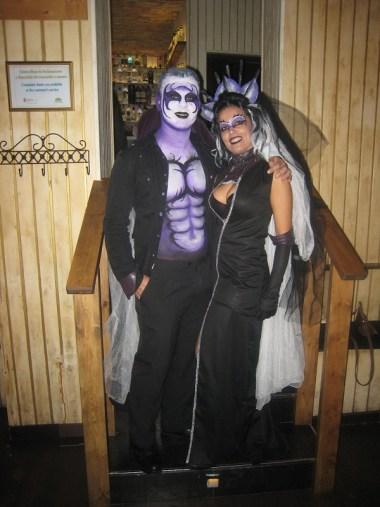 Maquillaje Halloween vampiro Beatriz Martínez