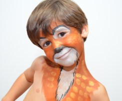 Maquillaje infantil bambi