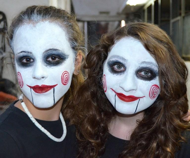 Maquillaje Halloween muñecas diabólicas Murcia