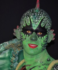 Body paint dragón Murcia