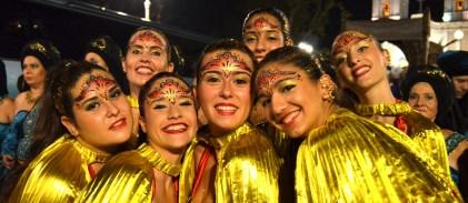 Maquillaje moros y cristianos Alicante