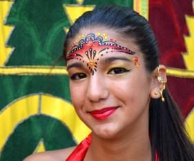 Maquillaje moros y cristianos rojo Murcia