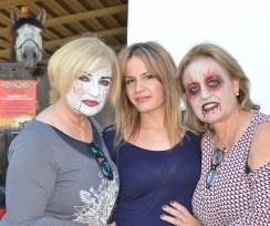 Maquillaje zombie y muñeca