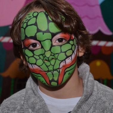 maquillaje infantil serpiente murcia